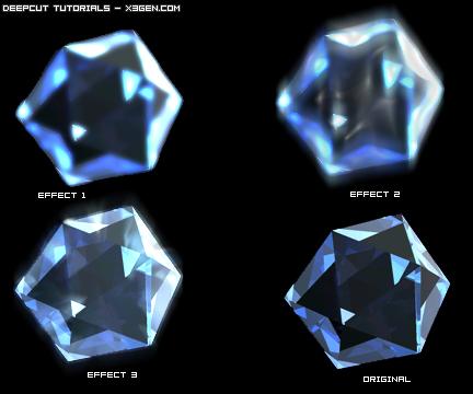 Objeto de Cristal en Cinema 4D