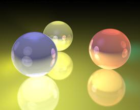 Iluminación de Esferas en Cinema 4D