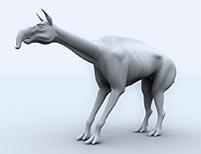 Modelado 3d de un Disnosaurio con Lightwave