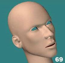 Modelando una cabeza en Lightwave
