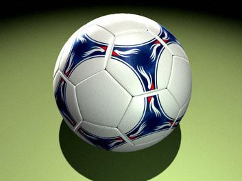 Balon de Futbol Soquer en  3D Studio Max