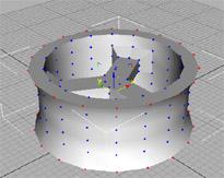 Llanta y Ring en 3D Studio Max