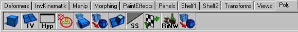 Interfaces básicas en Maya 3D.