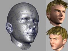 Modelar una cabeza en maya.