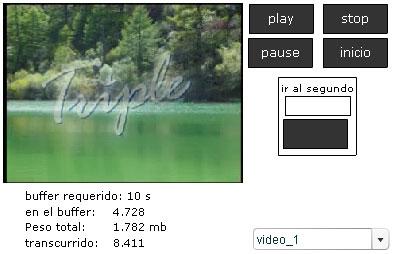 Controlando el video en Flash