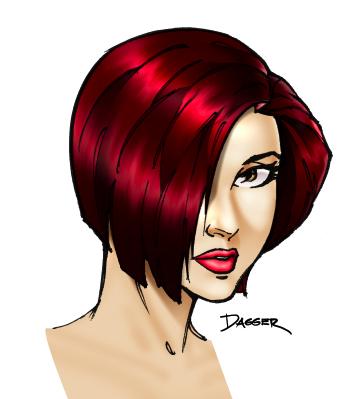 Ilustración: cabello con photoshop