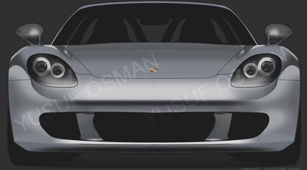 Dibuja un Porsche con Photoshop
