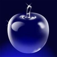 Manzana de Cristal con Photoshop