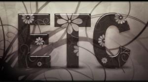 Estilo de capa Texto con dibujos Floreales