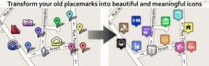 Mapa con iconos aplicados