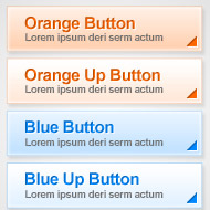 Simple Web Buttons psd