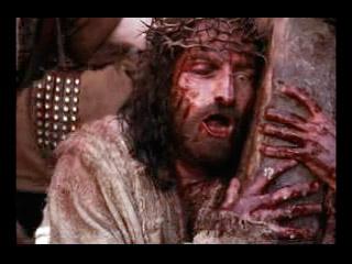 Jesús con la cruz a cuestas.