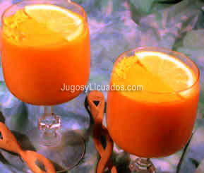 Jugo de Papaya con Naranja para la Digestin