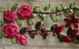 Este video no te enseña precisamente como hacer un bordados de flores