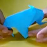 diseñar un elefante en origami