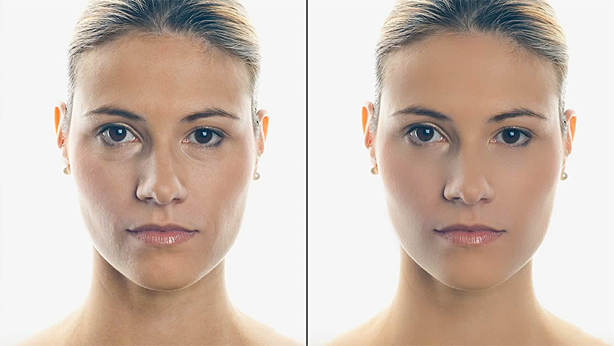 Professional Skin Retouching in Photoshop Using Non Destructive Editing Techniques