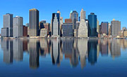 Skyscrapers Reflection in Water - Photoshop Tutorial