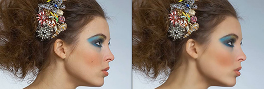 Tutorial Professional Skin Retouching in Photoshop Using Non Destructive Editing Techniques