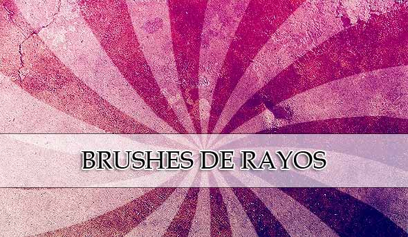 brushes de rayos vectorizados