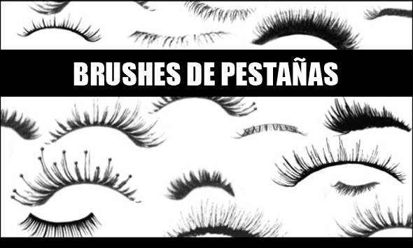 brushes de pestañas