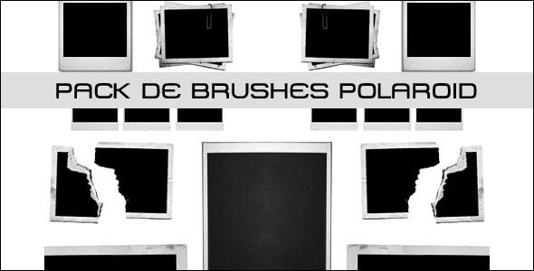 brushes polaroid