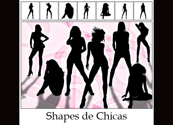 shapes chicas