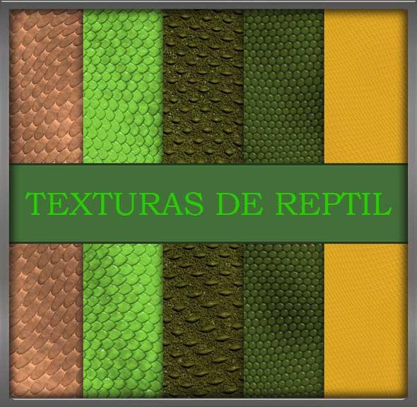 texturas de reptil