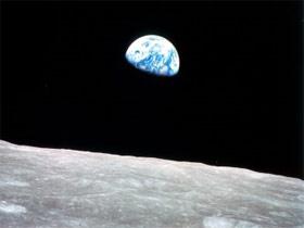 tierra desde la luna