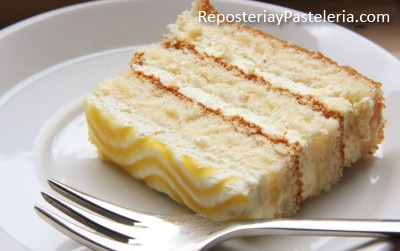 Receta del Pastel de Limón