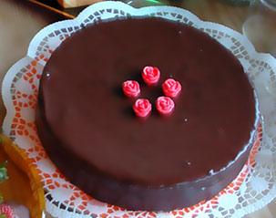 Receta del pastel de chocolate
