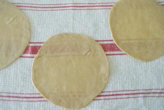 Buñuelos: Poner a secar