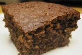 Pastel de Chocolate y Almendra Bajo en Calorías
