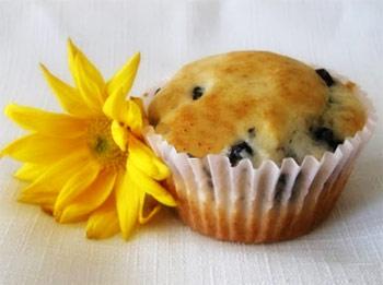 Muffins de Queso y Moras