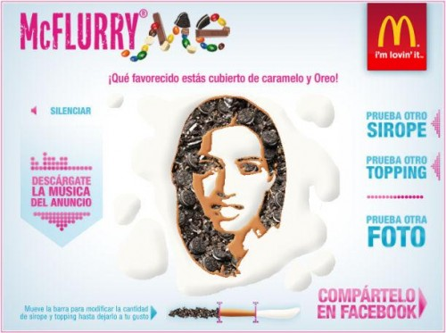 McFlurry Me en Facebook