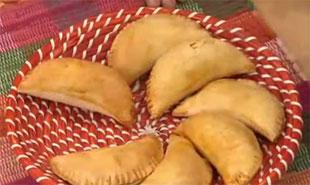 Empanadas de Arroz con Piña
