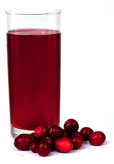 Cranberry juice creates energy barrier that keeps bacteria away from cells