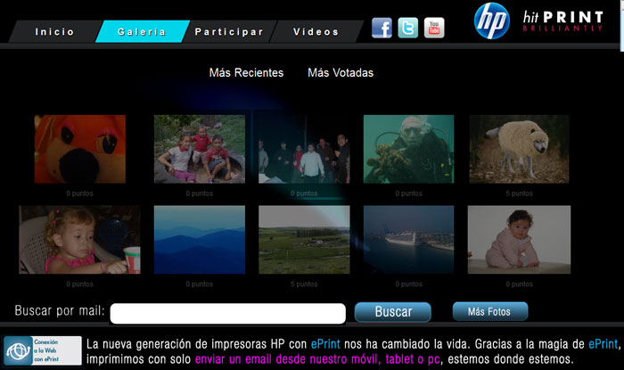 Galeria de imagenes HP