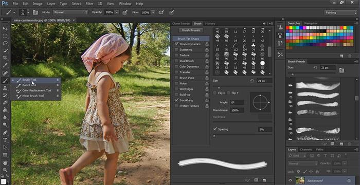 Herramientas de Pintura Sofisticada de Photoshop CS6