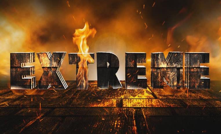 Texto Volcanico en Photoshop