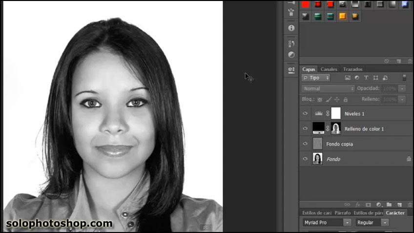Crear Fotografías Blanco y Negro con Photoshop