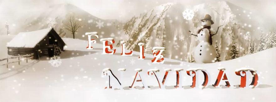 Perfil de Facebook con Motivos de Navidad