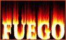 Efecto Texto de Fuego