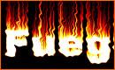 Texto con Efecto de Fuego