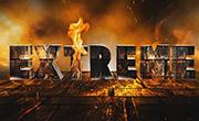 Texto Volcánico con Photoshop y Xara 3D