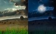 Pasar una Fotograf�a de D�a a Noche con Photoshop