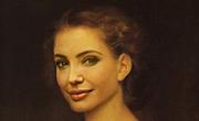 Imitaci�n de un Retrato Cl�sico con Angelina Jolie