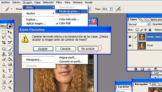 Convertir Foto A Dibujo Solo Photoshop