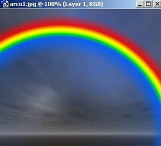 Crear un Arcoiris con Photoshop 03