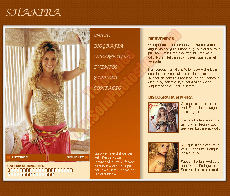 Diseño de una Pagina Web con Photoshop CS parte 1 | Solo Photoshop