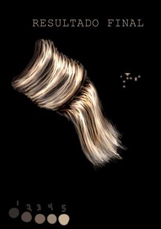 Dibujar cabello con pintura digital 09